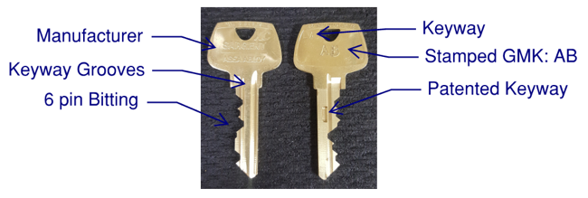 Midwest Door & Hardware Keying Services