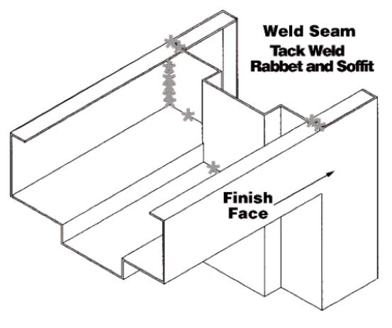 Midwest Door & Hardware Welded Frames